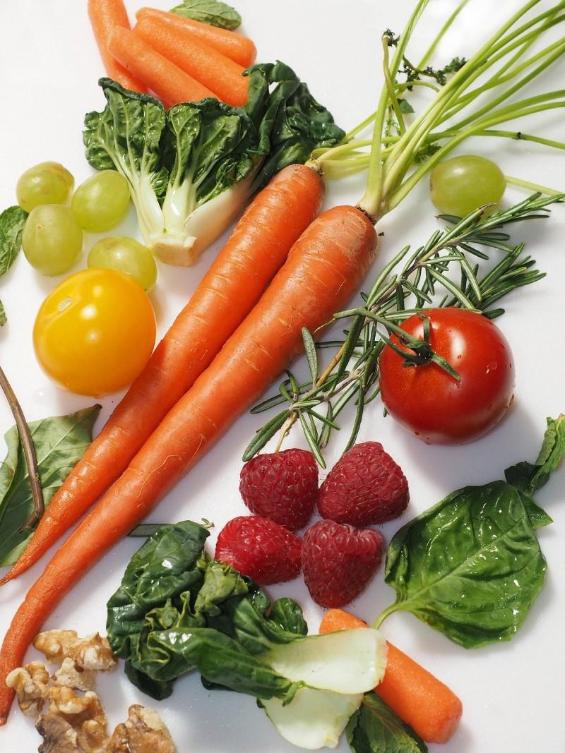 Zanahorias y vegetales